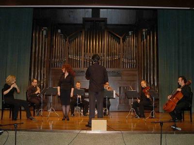 Grupo Modus Novus y Santiago Serrate. Concierto Medio siglo de música española (1950-2000)