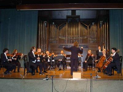 Orquesta Cámara Villa de Madrid y Mercedes Padilla. Concierto Medio siglo de música española (1950-2000)