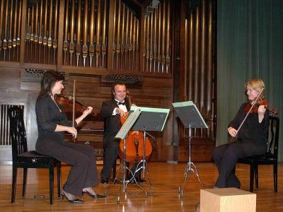 FATUM String Trio. Concierto Tres tríos españoles