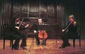 Trío de Cuerda Wandeter, Julia Malkova, Yulia Iglinova y Anton Gakkel. Concierto Luigi Boccherini: música de cámara , 2005
