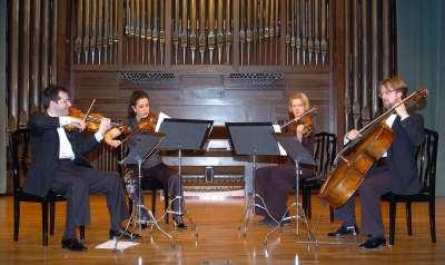Quartet de Barcelona. Concierto Cuatro cuartetos españoles
