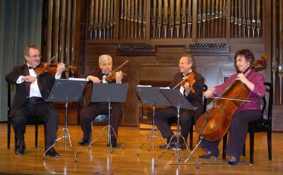 Cuarteto Harmony. Concierto Cuatro cuartetos españoles