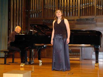 María Infante y Jorge Robaina. Concierto Robert Schumann