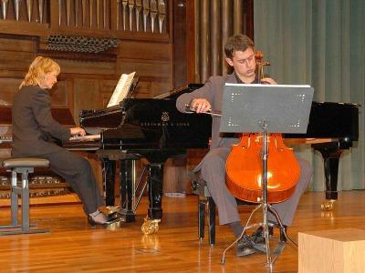 Paul Friedhoff y Patricia Barton. Concierto Música de cámara norteamericana