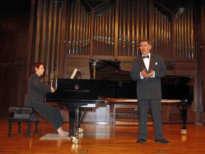 Iñaki Fresán y Eulalia Solé. Concierto Del romanticismo a la abstracción