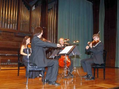 Cuarteto Novalis. Concierto Del romanticismo a la abstracción