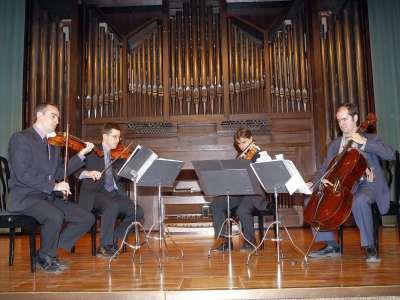 Cuarteto Granados. Concierto Bartók, música de cámara