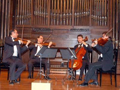 Cuarteto Saravasti. Concierto A mi querido amigo Haydn. Cuartetos de Haydn y Mozart