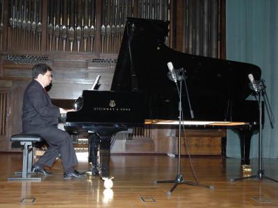 Manuel Escalante. Concierto Operistas en el salón
