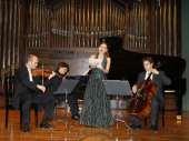 Trío Arbós, Juan Carlos Garvayo, Miguel Borrego, José Miguel Gómez y Sonia de Munck. Concierto Después de Stalin: música en la URSS, 1960-1990