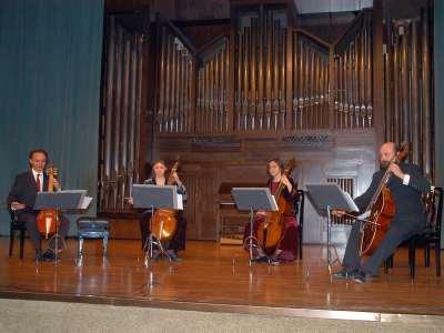 Banchetto Musicale, Pere Ros, Clara Hernández, José Berrazueta y Xurxo Varela. Concierto El siglo de oro: otros descubrimientos