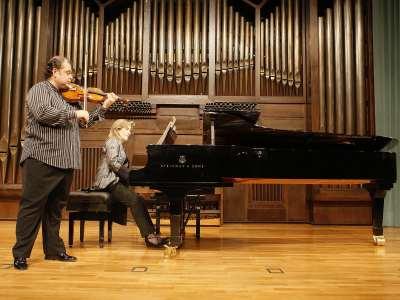 Manuel Guillén y Mª Jesús García. Concierto Joaquín Turina (2008)