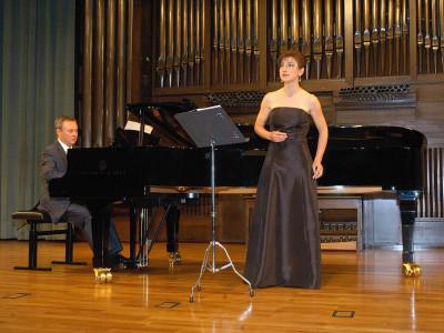 Fernando Turina y Susana Cordón. Concierto Joaquín Turina (2008)