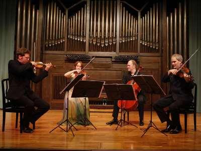 Cuarteto Casals, Vera Martínez, Abel Tomàs, Jonathan Brown y Arnau Tomàs. Concierto La angustia de la influencia. Haydn como modelo