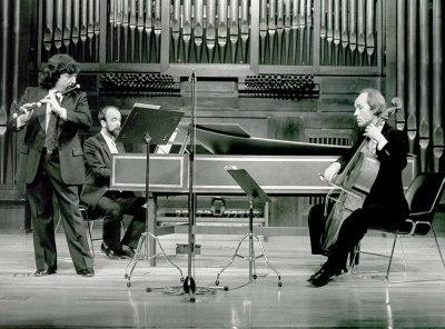 Mariano Martín, Jacques Ogg y Richte van der Meer. Concierto Música española del siglo XVIII