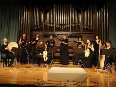 Voces Huelgas y Luis Lozano Virumbrales. Concierto Cluny en España. Tres conciertos con motivo del 11º centenario de la fundación de la Abadía de Cluny