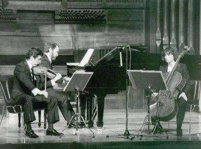 Trío Mompou. Concierto Música de cámara de la Generación de los Maestros