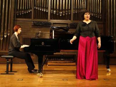 Nuria Orbea y Anouska Antúnez. Concierto El Grupo de los ocho y la nueva música (1920-1936)