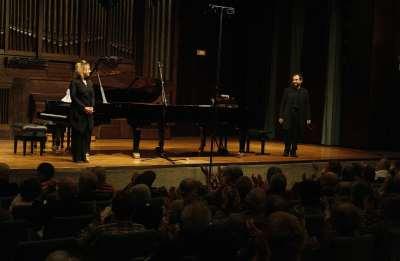 Atlantis Piano Dúo, Eduardo Ponce y Heidi Sophia Hase. Concierto Proporciones - Matemática musical
