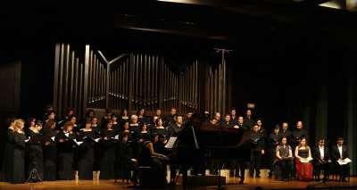 Coro de la Comunidad de Madrid, Jordi Casas, Marta Infante, Roger Padullés, David Menéndez y Karina Azizova. Concierto Wagner y su círculo