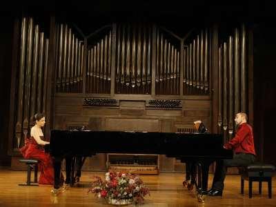 Sofía Melikyan y Emilio González Sanz. Concierto Wagner y su círculo