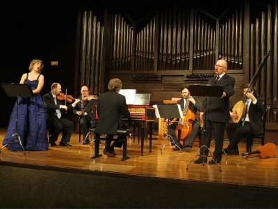Los Músicos de su Alteza y Luis Antonio González. Concierto Teatro de prodigios: precursores y epígonos - Las músicas de Calderón de la Barca