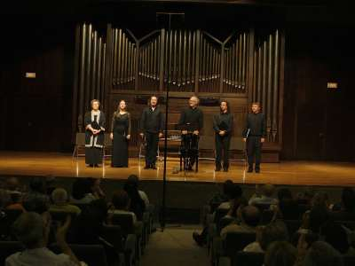 Ensemble Gilles Binchois y Dominique Vellard. Concierto Perotín y la Escuela de Notre-Dame - Los orígenes de la polifonía medieval