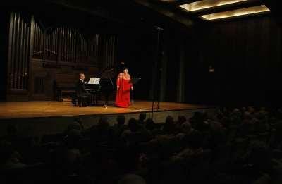 Ana María Sánchez y Alejandro Zabala. Concierto La relación con España - El universo musical de Alejo Carpentier