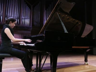 Alba Ventura. Concierto Prodigios musicales