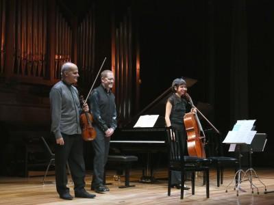 Trío Kandinsky, Corrado Bolsi, Amparo Lacruz y Emili Brugalla. Concierto Mieczyslaw Weinberg (1919-1996)