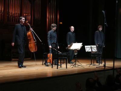 Marc Danel, Gilles Millet, Vlad Bogdanas y Guy Danel. Concierto Mieczyslaw Weinberg (1919-1996)