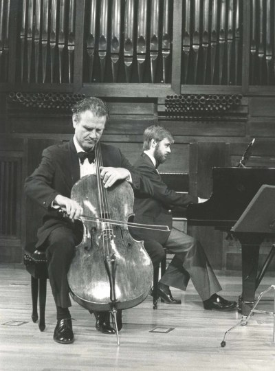 Luis Leguia y Fernando Turina. Recitales para Jóvenes