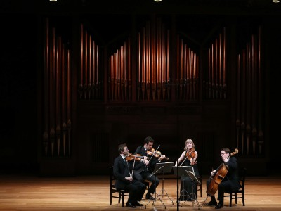 Cuarteto Doric. Concierto Verdi en el salón
