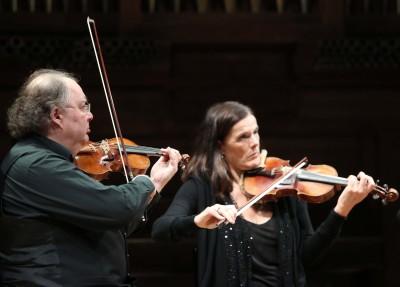Cuarteto Mosaïques, Erich Höbarth y Andrea Bischof. Concierto Gaetano Brunetti, músico de corte