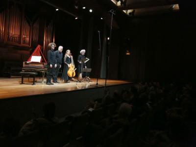 La Chimera, Furio Zanasi y Eduardo Eguez. Concierto La voce di Orfeo. Gli Amori di Francesco Rasi - Monteverdi y la invención de la melodía