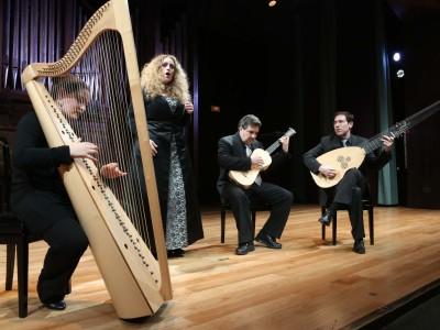 La Galanía y Raquel Andueza. Concierto Lamenti della ninfa - Monteverdi y la invención de la melodía