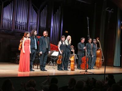 Accademia del Piacere, Juan Sancho, Mariví Blasco y Fahm Alqhai. Concierto Amori di Marte - Monteverdi y la invención de la melodía