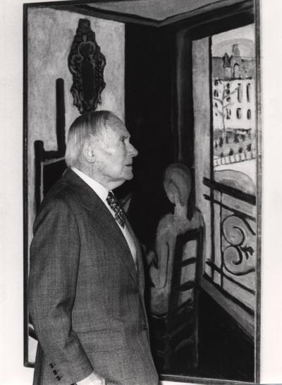 Joan Miró. Exposición Henri Matisse Óleos, dibujos, gouaches découpées, esculturas y libros