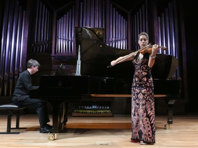 Leticia Moreno y Graham Jackson. Concierto Klee y Lily, música doméstica - El universo musical de Paul Klee