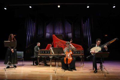 Monique Zanetti, Jean-Marc Aymes, Sylvie Moquet y Matthias Spaeter. Concierto En la academia - Compositoras