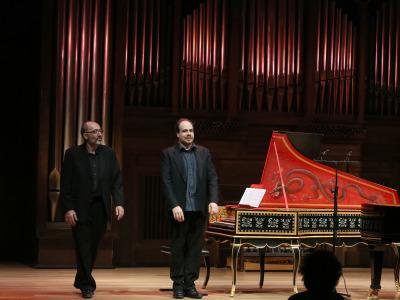 Kennedy Moretti y Claudio Martínez Mehner. Concierto Teclados en espejo - Preludios y fugas