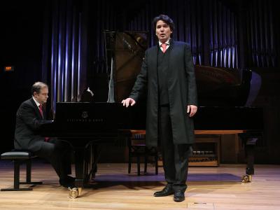 Julius Drake y Günter Haumer. Concierto El mundo de la canción alemana - El universo musical de Thomas Mann
