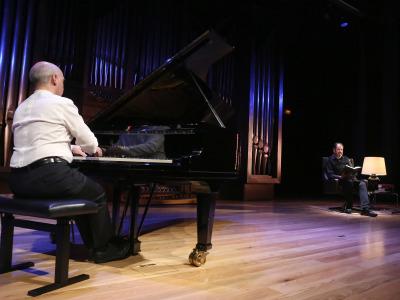 Miguel Ituarte y José María Pou. Concierto Doktor Faustus - El universo musical de Thomas Mann