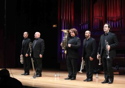 Spanish Brass Luur Metalls. Concierto Jazz en metal - Jazz impact