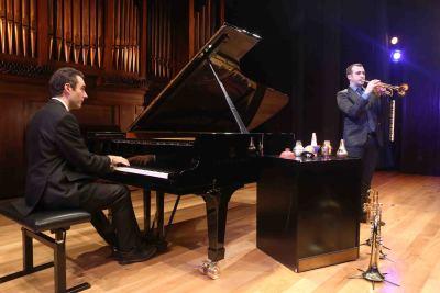 Manuel Blanco y Pablo Arancibia. Concierto Trompeta de jazz - Jazz impact