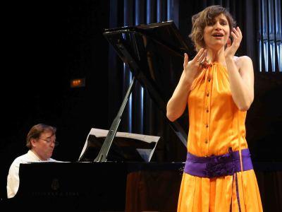 Marisa Martins y Mac McClure. Concierto El universo musical de la Generación del 14