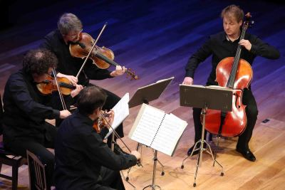 Cuarteto Debussy. Concierto El universo musical de la Generación del 14