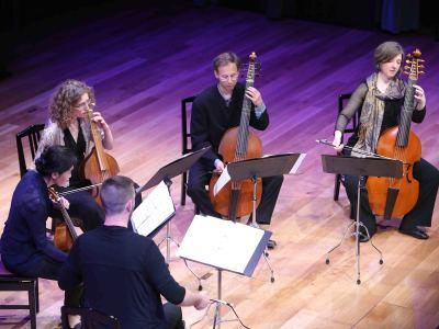 Concordia Viol Consort y Mark Levy. Concierto El origen: el consort inglés - Origen y esplendor de la viola da gamba