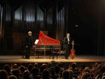 Lorenzo Ghielmi y Vittorio Ghielmi. Concierto El canto del cisne - Origen y esplendor de la viola da gamba