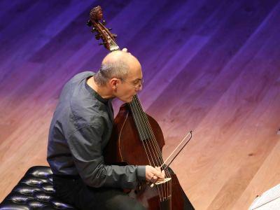Paolo Pandolfo. Concierto Violas en diálogo - Origen y esplendor de la viola da gamba